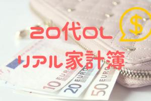 【2018年3月】OLのリアル家計簿公開!