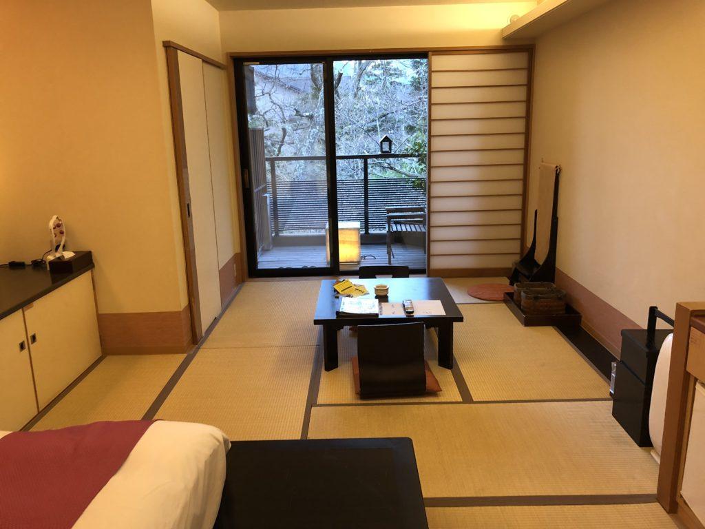 箱根 季の湯雪月花 お部屋