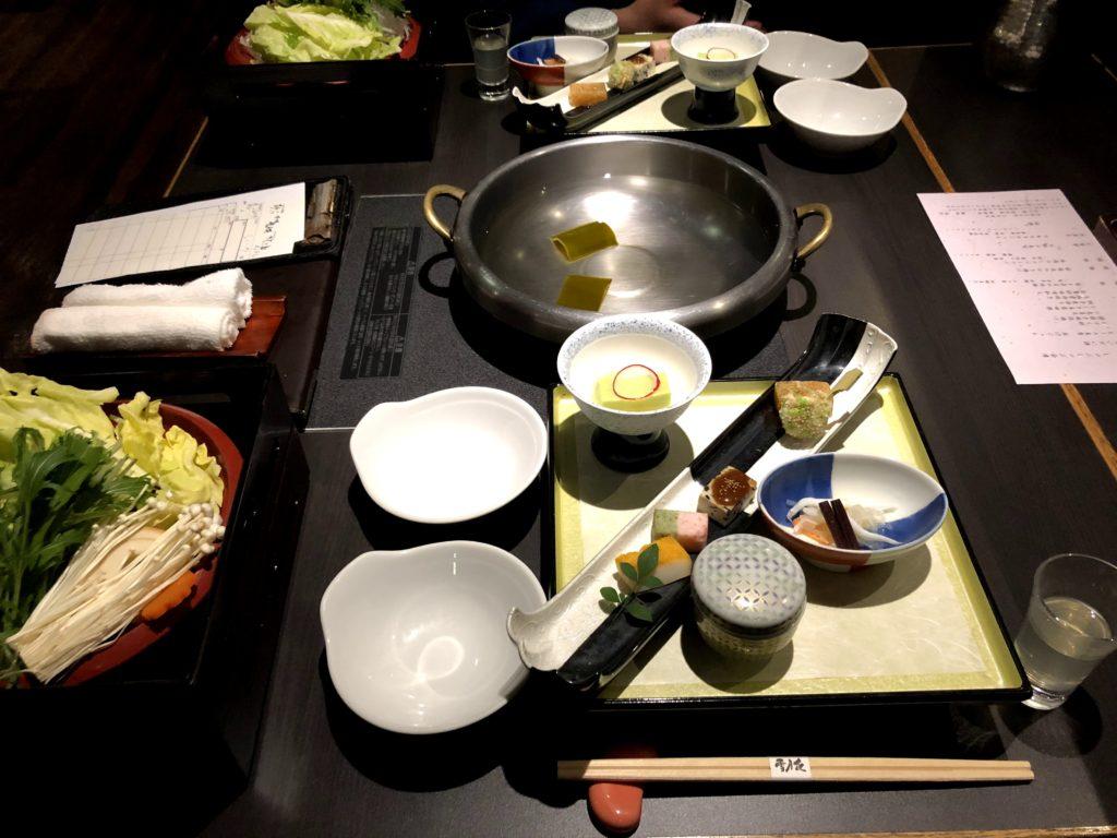 箱根 季の湯雪月花 夜ご飯