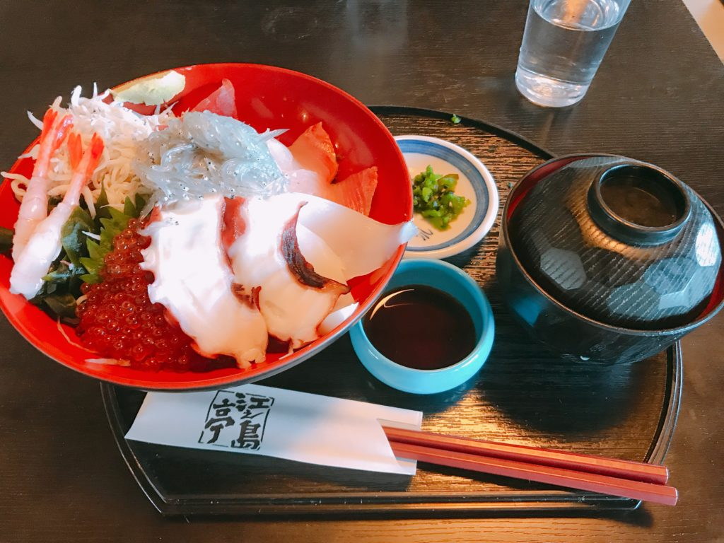 江ノ島亭 海鮮丼