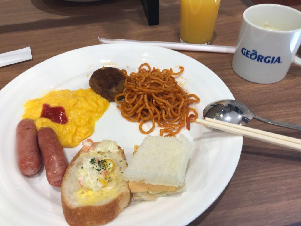 ホテルユーラシア舞浜アネックス 朝食