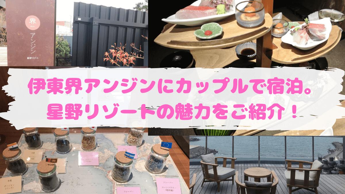 星野リゾート界アンジン宿泊記