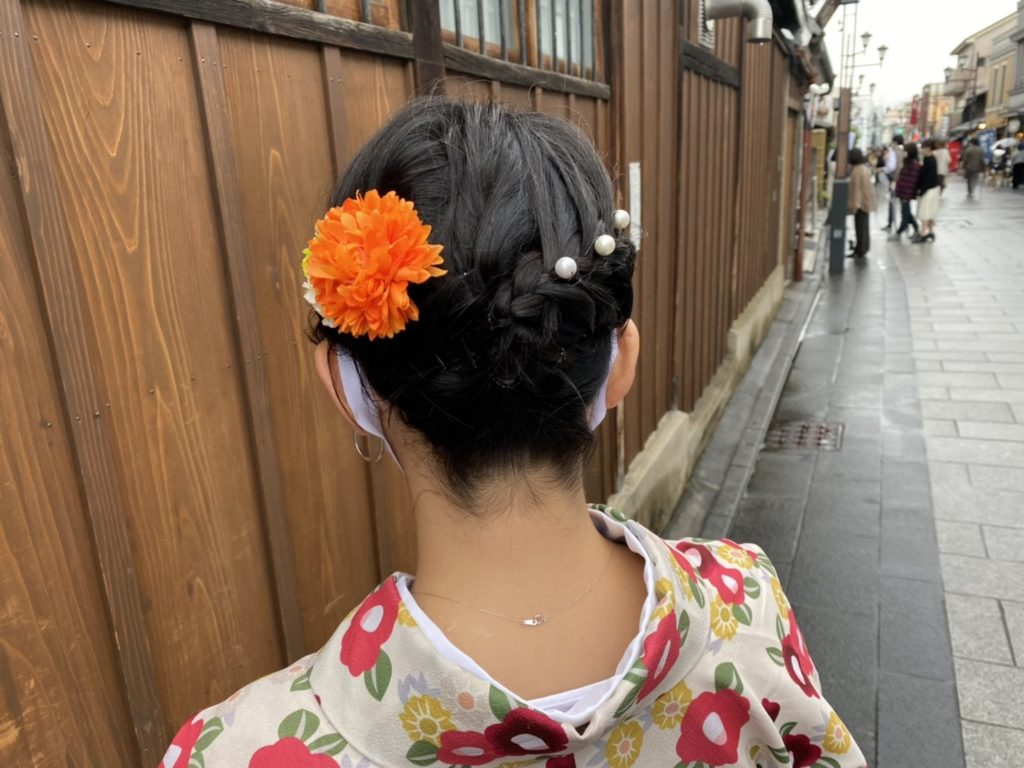 川越デートヘアアレンジ